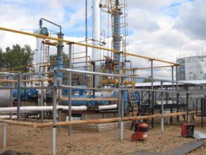 Нефтеперерабатывающие заводы